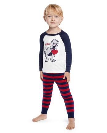 Boys Valentine's Cutie Cotton 2-Piece Pajamas - Gymmies