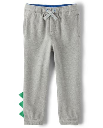 Boys Spike Jogger Pants - Hello Dino