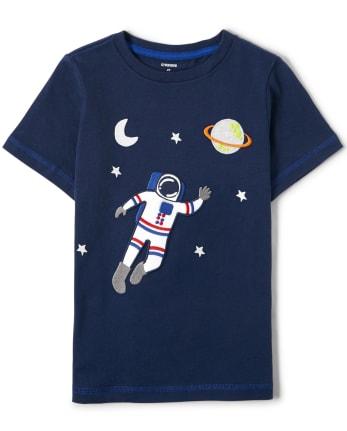 Unisex Embroidered Astronaut Top - Future Astronaut
