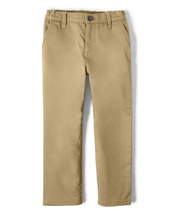 Boys Stretch Twill Pants