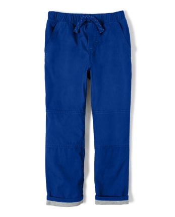 Boys Pull On Lined Pants - Lil Champ