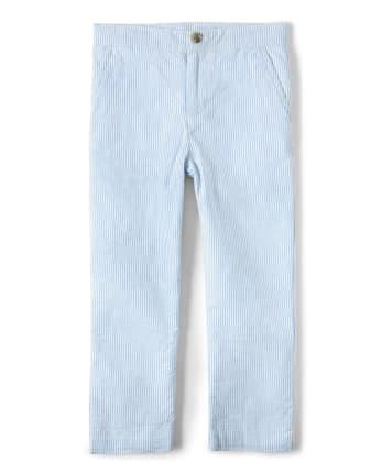 Boys Seersucker Pants - Country Club