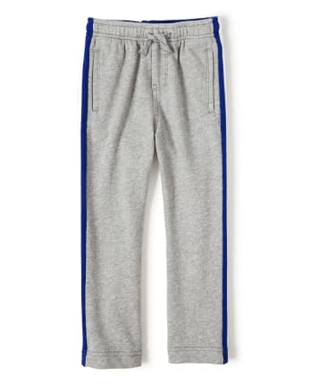 Boys Baseball Side Stripe Jogger Pants - Lil Champ