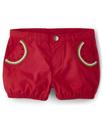 Girls Watermelon Shorts - Sweet Watermelon