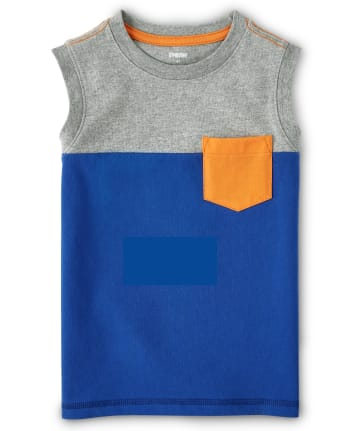 Débardeur color-block pour garçon - Mr.Fix It
