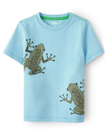 Boys Frog Top - Critter Camp