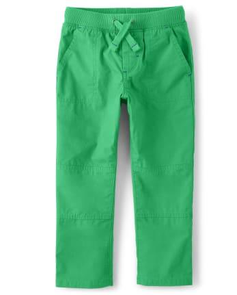 Boys Pull On Pants - Dino Dude