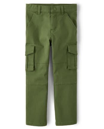 Boys Cargo Pants - Critter Campout