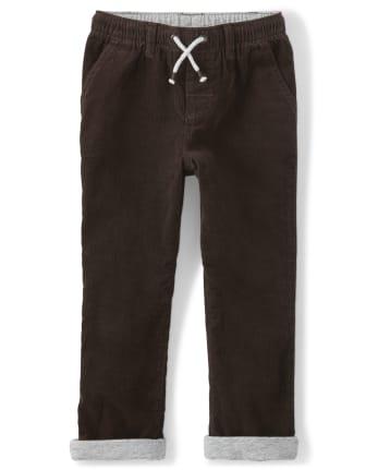Boys Pull On Corduroy Pants