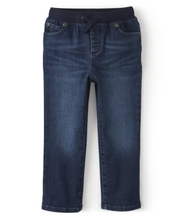 Boys Pull On Jeans