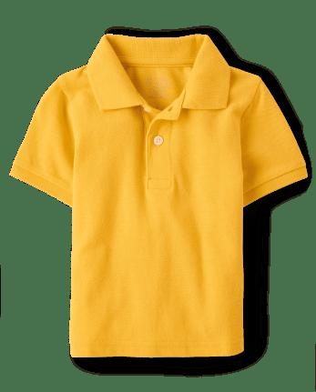 Baby And Toddler Boys Uniform Pique Polo