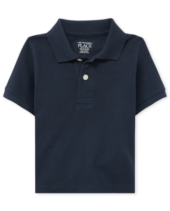 Baby And Toddler Boys Uniform Pique Polo