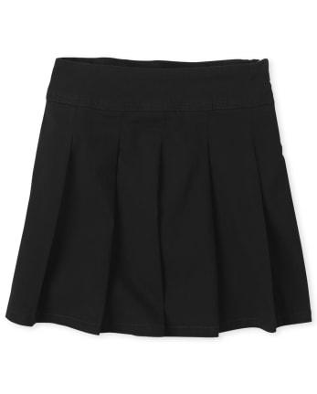 Girls Uniform Pleated Skort