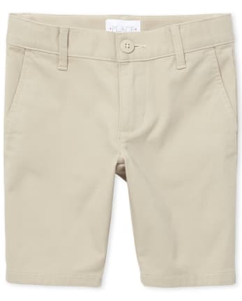Girls Uniform Stretch Chino Shorts