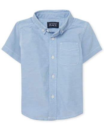 Baby And Toddler Boys Uniform Oxford Button Down Shirt