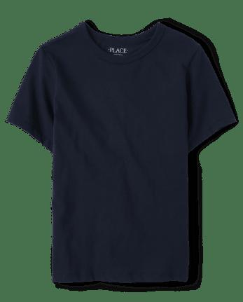 Camiseta básica de uniforme para niños