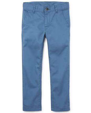 Boys Uniform Skinny Chino Pants