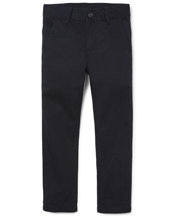 Boys Uniform Skinny Chino Pants