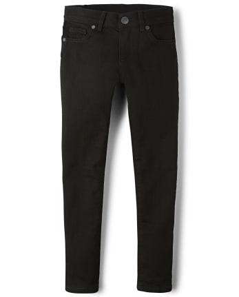 Girls Basic Stretch Super Skinny Jeans