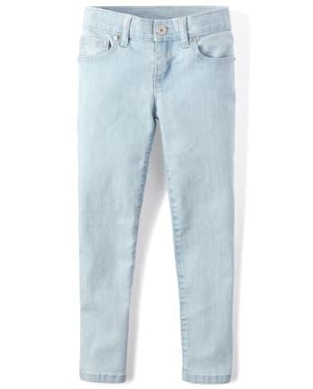 Girls Basic Super Skinny Jeans
