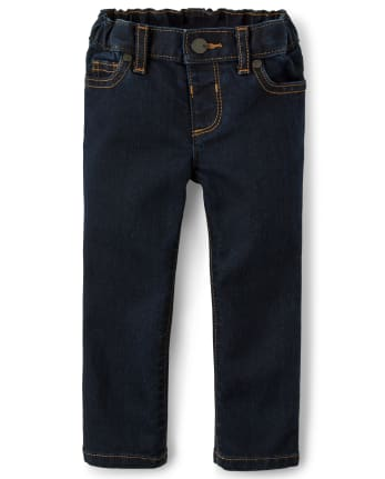 Baby And Toddler Girls Basic Super Skinny Jeans