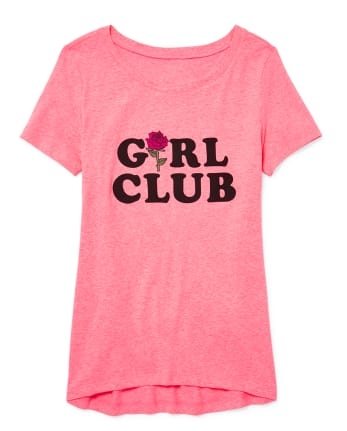 Womens Mommy And Me Girl Club Matching Graphic Tee