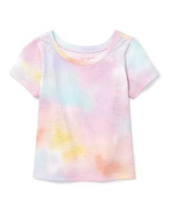 Baby And Toddler Girls Mix And Match Print Top