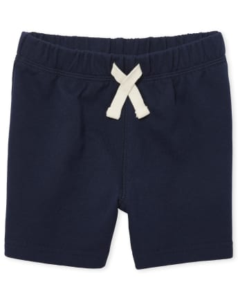 Baby And Toddler Boys Uniform French Terry Shorts