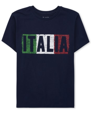 Boys Italia Graphic Tee