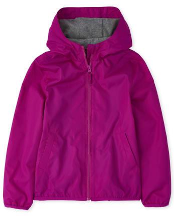 Girls Uniform Windbreaker Jacket