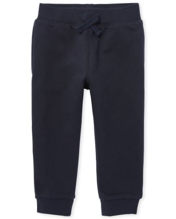 Toddler Boys Uniform Active Fleece Jogger Pants