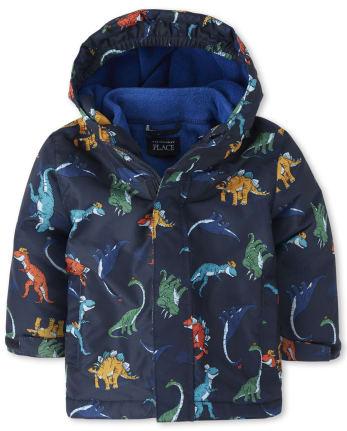 Toddler Boys Print 3 In 1 Jacket