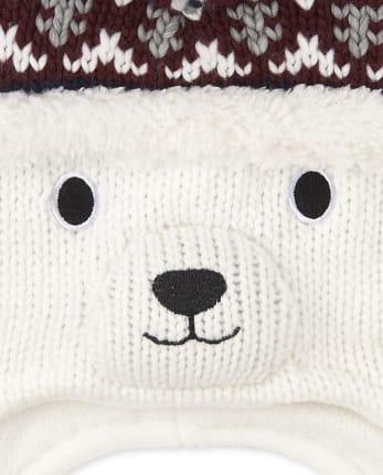 bear hat and bear set