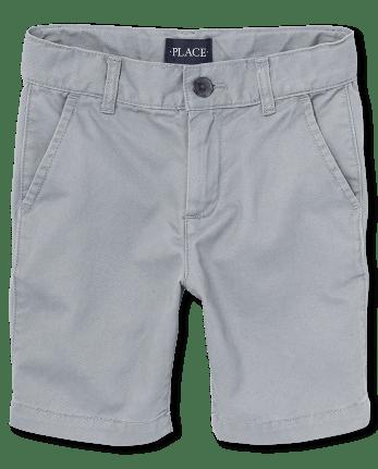 Boys Uniform Stretch Chino Shorts