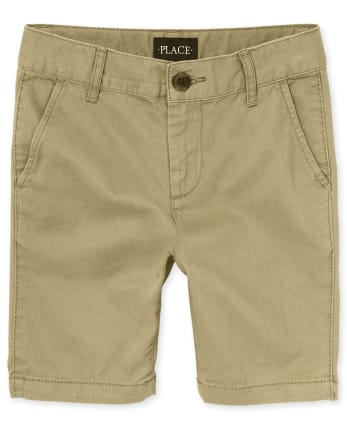 Boys Uniform Stretch Chino Shorts
