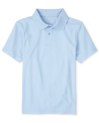 Boys Uniform Performance Polo