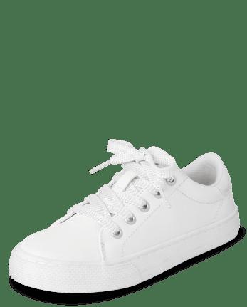Girls Uniform Low Top Sneakers