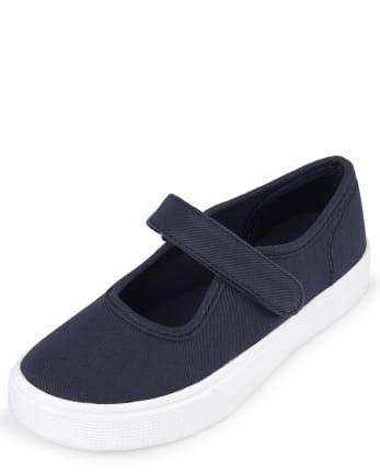 Girls Uniform Sneakers