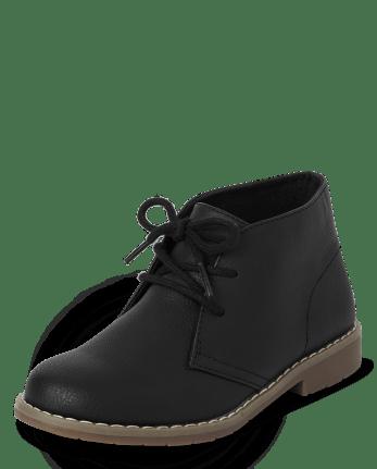 Boys Uniform Lace Up Boots