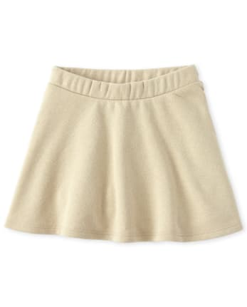 Toddler Girls Uniform Active French Terry Skort