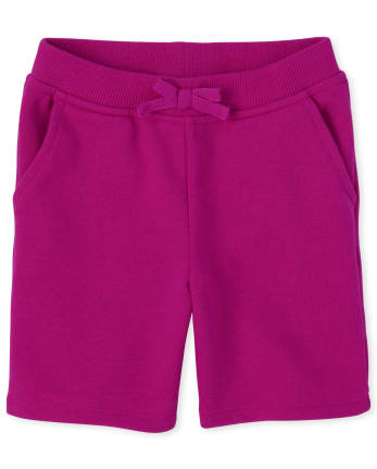 Baby And Toddler Girls Uniform French Terry Shorts
