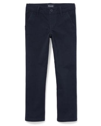 Girls Uniform Stretch Skinny Perfect Chino Pants