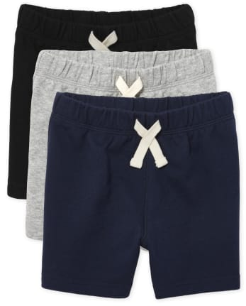 Baby And Toddler Boys Shorts 3-Pack