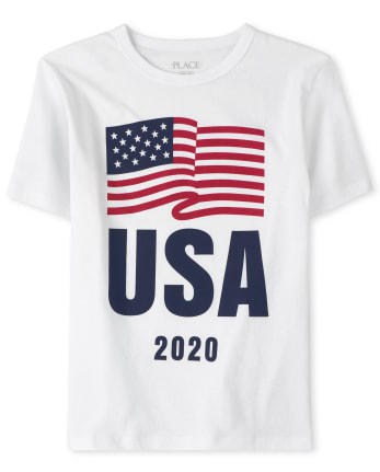 Boys Matching Family USA Olympics Graphic Tee