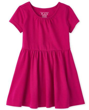 Toddler Girls Essential Skater Dress