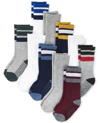 24 25 pink purple colorful striped children/'s socks socks