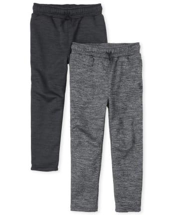 Boys Performance Pants 2-Pack