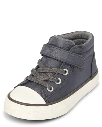 Toddler Boys Camo Mid Top Sneakers