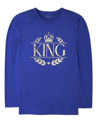 Camiseta estampada Royal Foil de la familia a juego para hombre