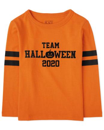Camiseta unisex con estampado de Halloween 2020 de la familia a juego para bebés y niños pequeños